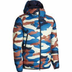 Nike Mens Down Fill Full Zip Puffy Jacket Camo BV4763-744 NE