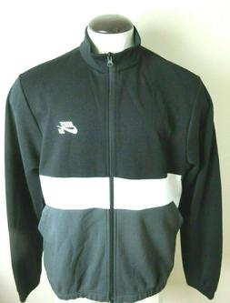 Nike SB Mens Dri-Fit Full Zipper Track Jacket Black White Gr
