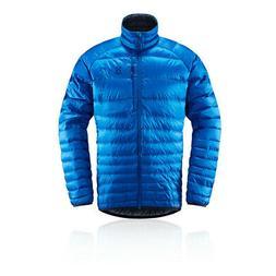 Haglofs Mens Essens Down Jacket Top - Blue Sports Outdoors F
