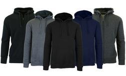 Mens Fleece Hoodie Sweater Jacket Sweatshirt Zip & Pullover