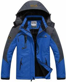 Mens Mountain Waterproof Ski Snow Coat Jackets Winter Windpr