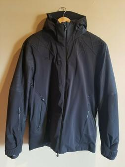 Kjus Mens Formula DLX Ski Jacket MS15-807 Black Size 52 Larg