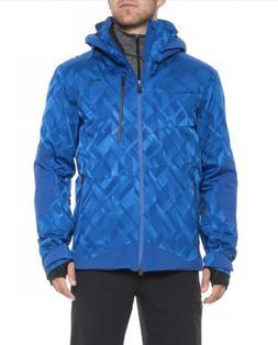 KJUS Mens Frameworks Jacket Alaska Blue Size Medium 50 MS15-