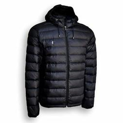 Polo Ralph Lauren Mens Full Zip Hooded Puffer Jacket