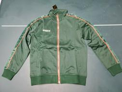 Mens Karter Collection Galliano Green Track Jacket Free Ship