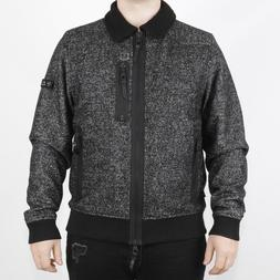Mens Luke Georgy Boy Black/Grey Jacket  RRP £149.99