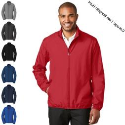 Clearance Mens Golf Rain Jacket Lightweight Full Zip Water W