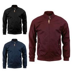mens harrington jacket classic water repellent lightweight