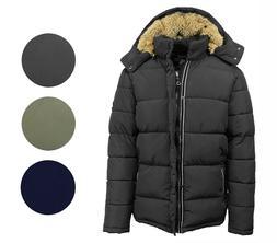 mens heavyweight snorkel jacket parka coat outerwear