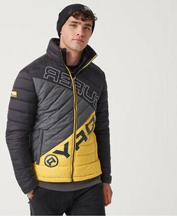 Superdry Mens Incline Quilt Fuji Jacket