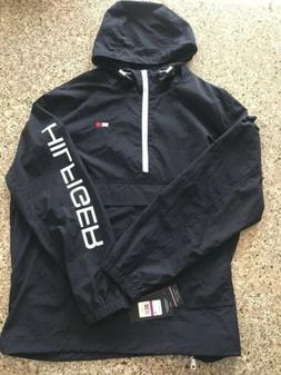 5b8f18d9 Tommy Hilfiger Mens Jacket 1/2 Zip windbreaker size XXL Colo