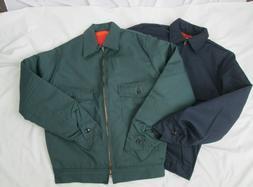 Mens Jacket IKE unlined Work Blue Green Gray Small Medium La