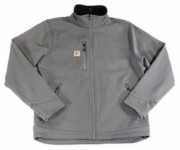 Carhartt Mens Jacket Gray Size Large L Full-Zipped Crowley S