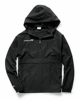 Champion Mens Jacket Packable Wind Resistant Lightweight Scu