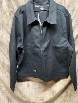 Dickies Mens JT76 Black Flex Eisenhower Jacket Large Limited