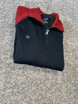 Express Mens Large Red And Black Jacket