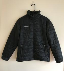 Columbia Mens M Black, Omni Heat puffer jacket