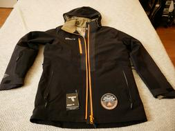 Mens M Columbia Titanium Powder Keg Down Insulated Ski Jacke