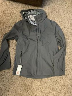 Kjus Mens Medium 50 Albula Ski Jacket Snowboarding Coat Grey