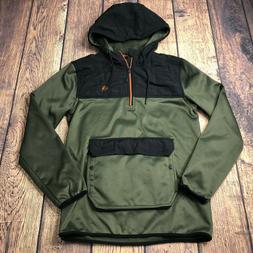 Legendary Whitetails Mens Medium Insulated Hoodie Jacket Gre