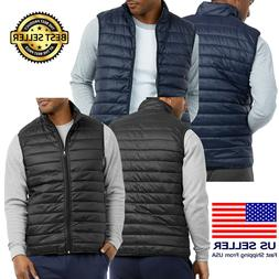 Mens New Track Nylon Puffer Jacket Classic Lightweights Warm