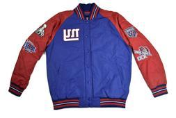 Mens NFL New York Giants 4 Time Super Bowl Champions Jacket