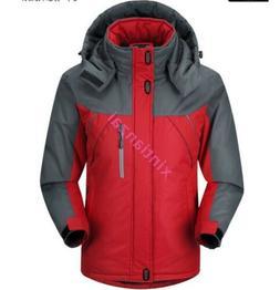 Mens Outdoor Snow Ski Fleece Jacket Winter Hooded Windproof