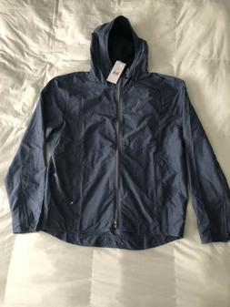 Onia Mens  Parker Hooded Jacket Navy Heather $195 Sz S, L
