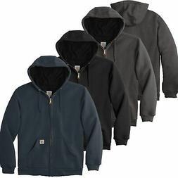 Carhartt Mens Rain Defender Rutland Thermal-Lined Hooded Zip