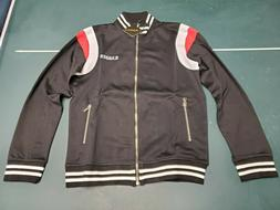 Mens Karter Collection Roosevelt Black Track Jacket Free Shi