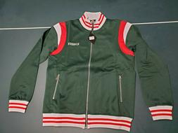 Mens Karter Collection Roosevelt Green Track Jacket Free Shi