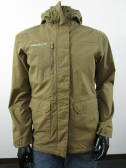 Mens Columbia S-M-XL-XXL Oak Springs Rain Waterproof Hooded