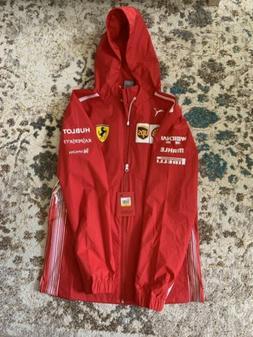 Mens Puma Scuderia Ferrari SF Team Jacket - Rosso Corsa Size