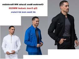 Cherokee Mens Scurbs WW Revolution Zip Front Jacket WW320 Al