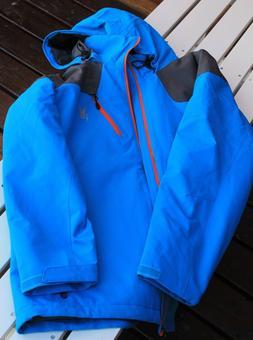 Mens Spyder Ski Jacket, Blue, Insulated, XL, NWOT