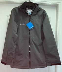 Columbia Mens  Ski Jacket Coat Powder Mountain Omni Tech  He