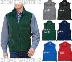 Mens Soft Polar Fleece Vest Sleeveless Jacket Warm Winter Co