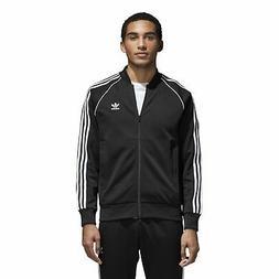 Mens adidas SST Track Jacket - Black - CW1256