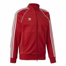 Mens adidas SST Track Jacket - Red - DV1514
