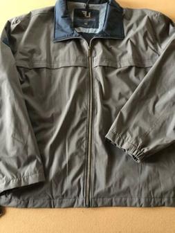 Mens London Fog Stretch Solid Performance Jacket Size 4XL NW