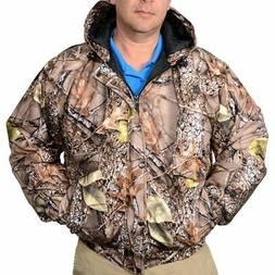 World Famous Mens Tan Camo Waterproof Breathable Insulated J