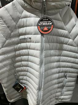 Columbia Mens Titanium Alpha Trail Down Hooded Jacket 800 Fi