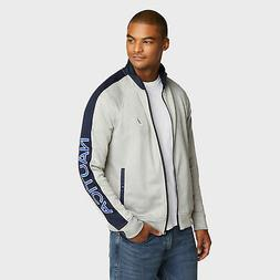 Nautica Mens Track Jacket With Piping