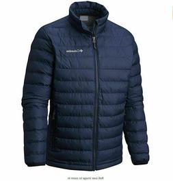 Columbia Mens Trail Puffer Thermal Coil Jacket Medium Colleg