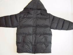 Men's WARM Puffer Jacket Bubble Coat Fleece lined Zip-off