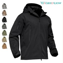 Mens Waterproof Jackets Army Military Tactical Jacket Therma