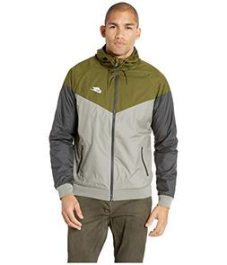 NIKE Mens Windrunner Hooded Track Jacket Olive Canvas/Dark S