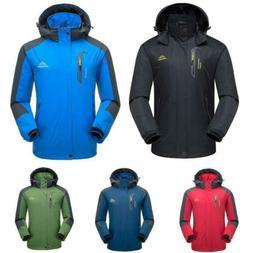 Mens Winter Waterproof Mountain Jacket Windproof Ski Coats H