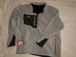 The North Face Mens XXL Fleece Jacket Chimborazo Light Gray