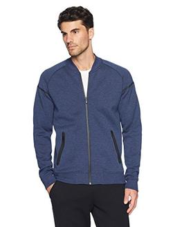 Peak Velocity Men's Metro Fleece Full-Zip Athletic-Fit Bombe